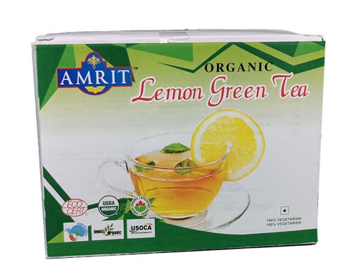 Picture of Amrit Lemon Grass Green  Tea