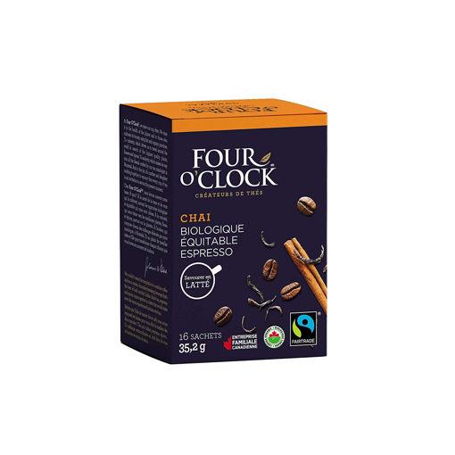 Picture of Four O'clock Teas Black Chai Espresso