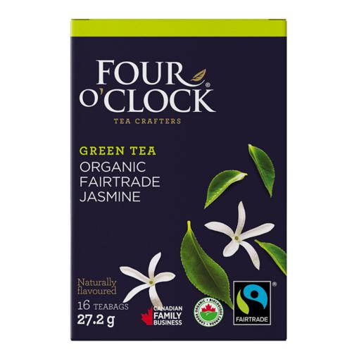 Picture of Four O' Clock Green Tea Jasmine Organic