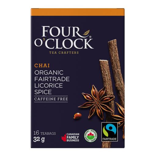 Picture of Four O'Clock Tea Organic Licorice Spice Tea