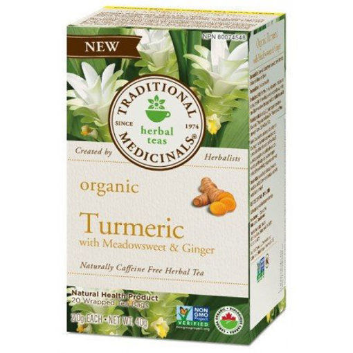 Picture of Turmeric Tea with Meadowsweet & Ginger