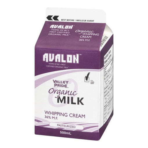 Picture of Organic Whipping Cream