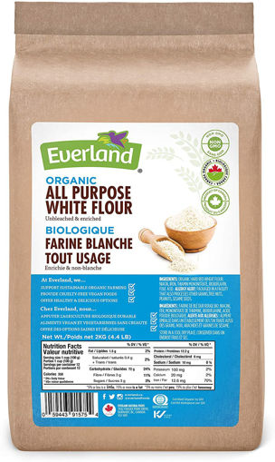 Picture of All Purpose White Flour Unbleached, Organic