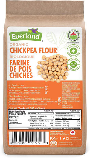 Picture of Gluten Free Chickpea Flour Organic Everland