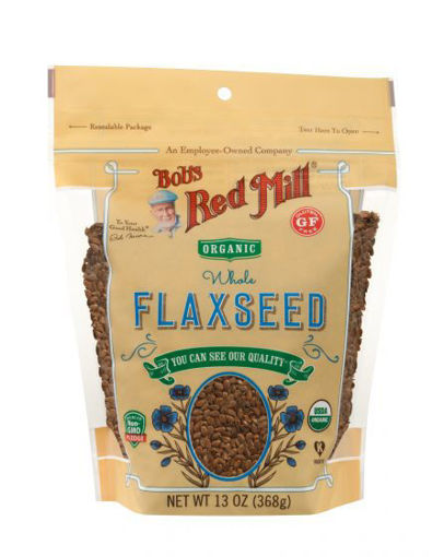 Picture of Flaxseeds Brown Organic Bob's Red Mill