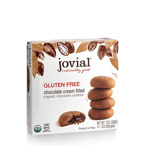 Picture of Gluten Free Chocolate Cream Cookies Organic