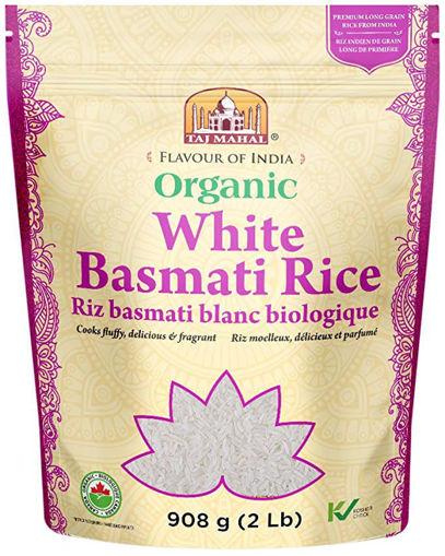 Picture of White Basmati Rice Organic, Taj Mahal