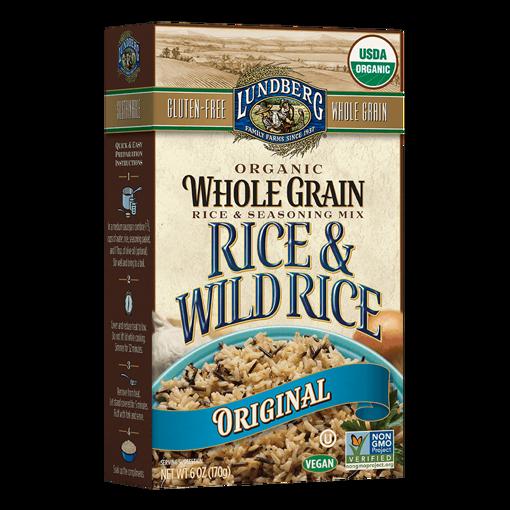 Picture of Whole Grain & Wild Rice - Original Organic, Lundberg