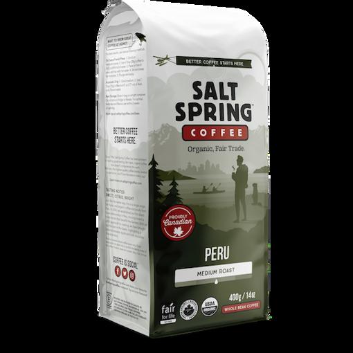 Picture of Peru - Medium Roast  Organic, Salt Spring Coffee
