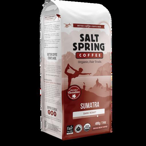 Picture of Sumatra - Dark Roast Organic, Salt Spring Coffee