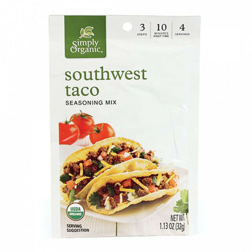 Picture of Taco Seasoning Simply Organic