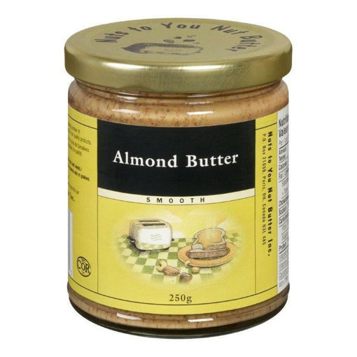 Picture of Almond Butter Smooth, Organic - Nuts To You