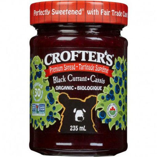 Picture of Black Currant Premium Spread, Organic Crofter's