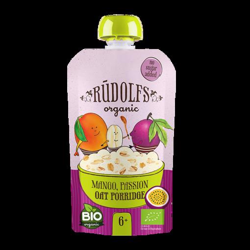 Picture of Mango Passion Oat Porridge Organic, Rudolfs