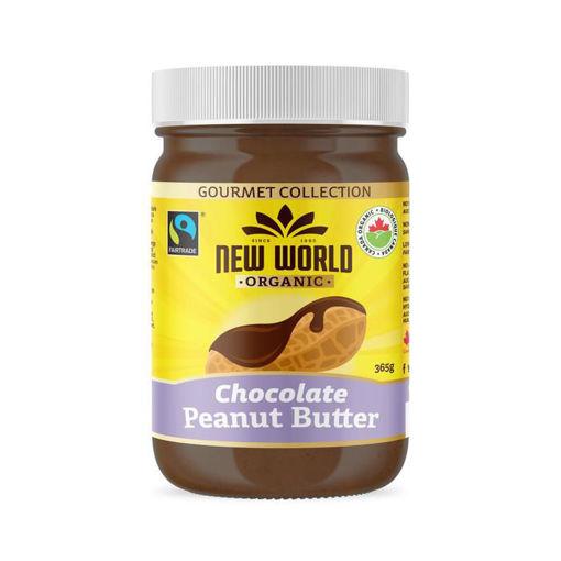Picture of Dark Chocolate Peanut Butter Organic, New World Foods