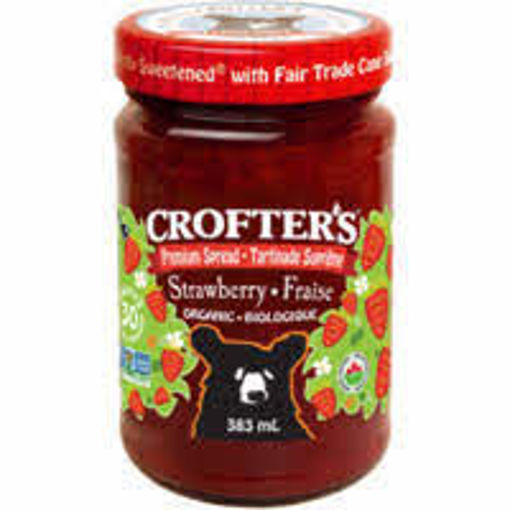 Picture of Strawberry Premium Spread Organic, Crofter's