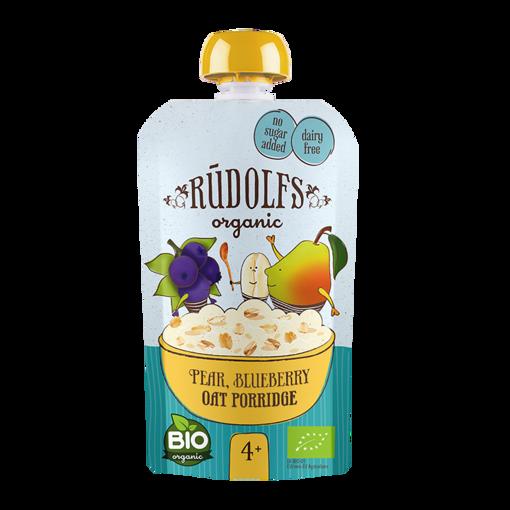 Picture of Pear, Blueberry Oat Porridge Baby Food Organic, Rudolfs