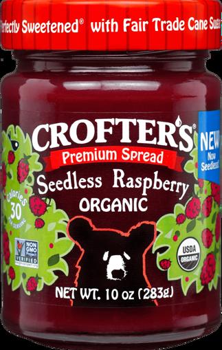 Picture of Premium Spread - Seedless Raspberry Organic, Crofter's