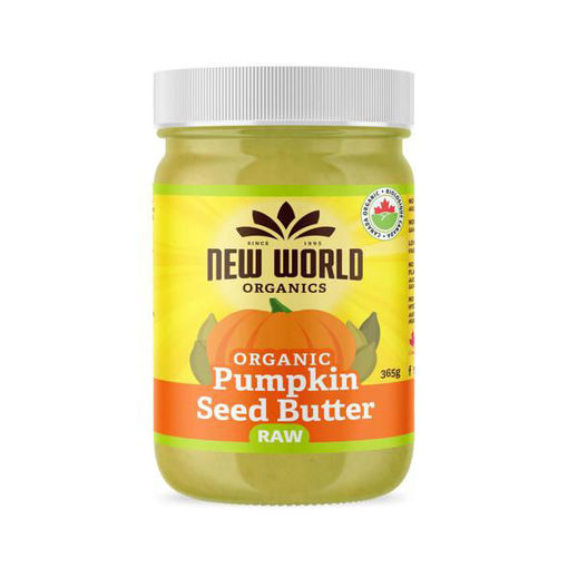 Picture of Pumpkin Seed Butter Raw Organic, New World Foods