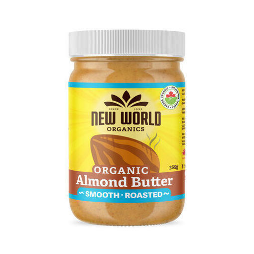 Picture of Almond Butter Smooth, Organic, New World Foods