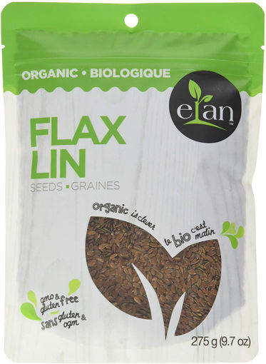 Picture of Flax Seeds Whole Organic, Elan
