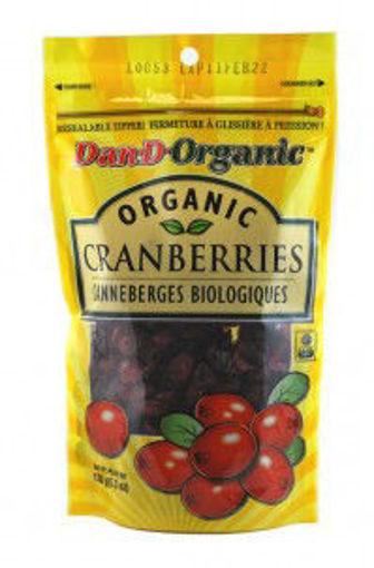 Picture of Cranberries, Dried Organic, Dan-D