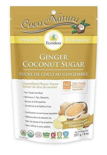 Picture of Coconut Sugar Ginger Organic, Ecoideas