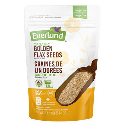 Picture of Flax Seeds Golden Organic, Everland