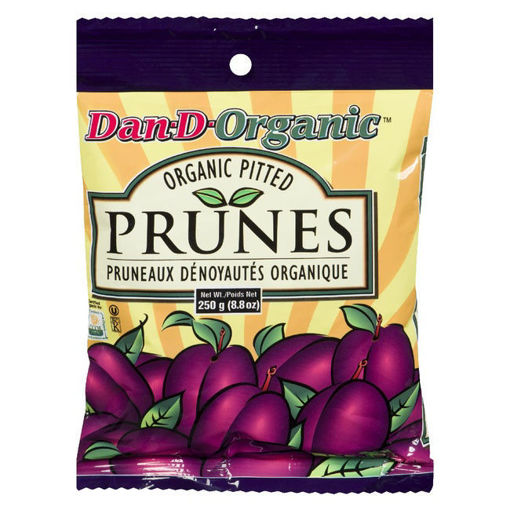Picture of Pitted Prunes Organic, Dan-D