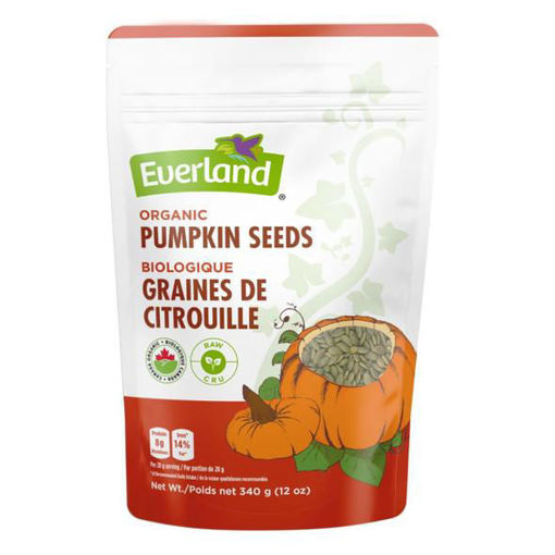 Picture of Roasted Pumpkin Seeds Organic,Everland