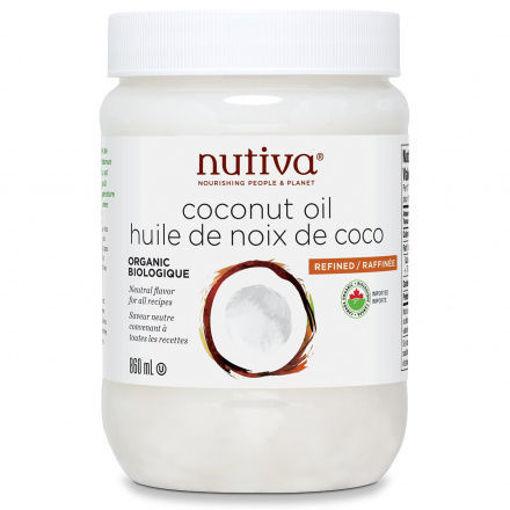 Picture of Coconut Oil Refined Organic, Nutiva