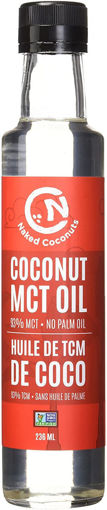Picture of Coconut MCT Oil Organic, Naked Coconuts