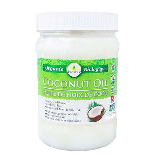 Picture of Coconut Oil Organic, EcoIdeas