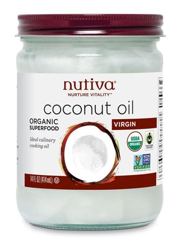 Picture of Virgin Coconut Oil Organic, Nutiva