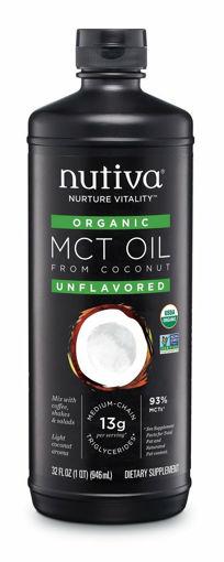 Picture of Liquid MCT Coconut Oil Organic, Nutiva