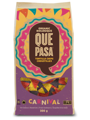 Picture of Carnival Tortilla Chips Organic, Que Pasa Foods