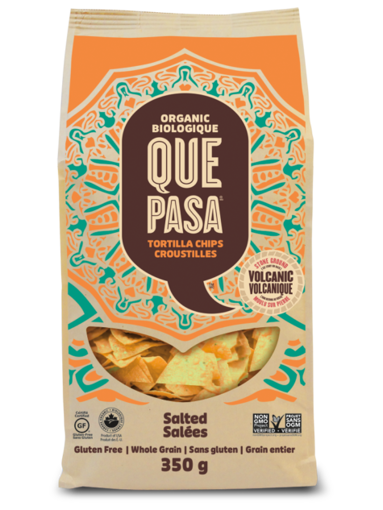 Picture of Salted Tortilla Chips Organic, Que Pasa