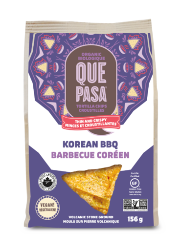 Picture of Korean BBQ Tortilla Chips Organic, Que Pasa Foods