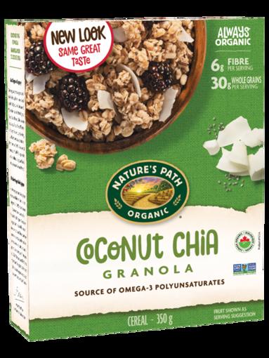 Picture of Coconut Chia Granola Organic, Nature's Path