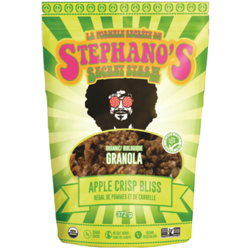 Picture of Apple Crips Bliss Pouch Organic, Stephano's