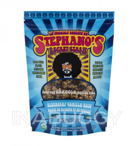 Picture of Blueberry Vanilla Hazel Granola Organic, Stephano's