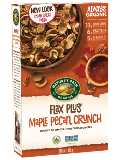 Picture of Flax Plus® Maple Pecan Crunch Organic, Nature's Path