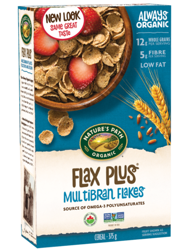 Picture of Flax Plus® Multibran Flakes Organic, Nature's Path