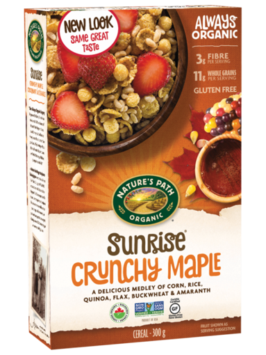 Picture of Sunrise® Crunchy Maple Cereal Organic, Nature's Path