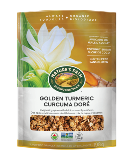 Picture of Golden Turmeric Superfood Granola Organic, Nature's Path