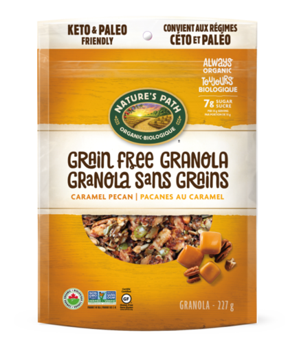 Picture of Caramel Pecan Grain Free Granola Organic, Nature's Path