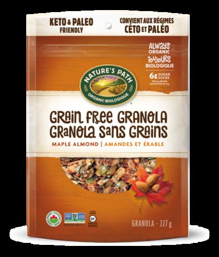 Picture of Maple Almond Grain Free Granola Organic, Nature's Path