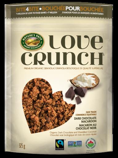 Picture of Love Crunch Dark Chocolate Macaroon Granola Organic, Nature's Path