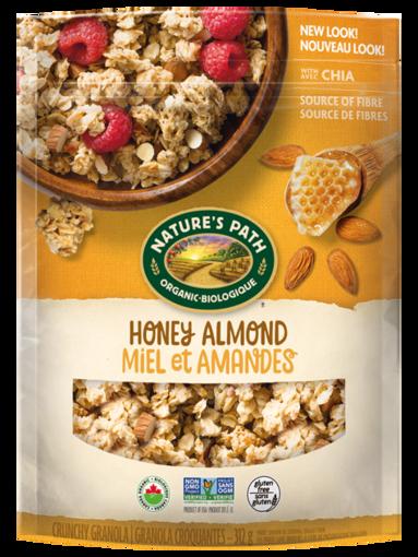 Picture of Honey Almond Granola Organic, Nature's Path