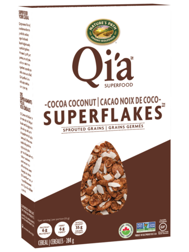 Picture of Cocoa Coconut Superflakes Organic, Nature's Path
